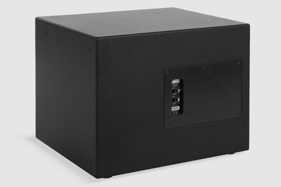 Fohhn, AS-22 ASX, Ultra-compact, active subwoofer with DSP, 1x12, 500 W, black